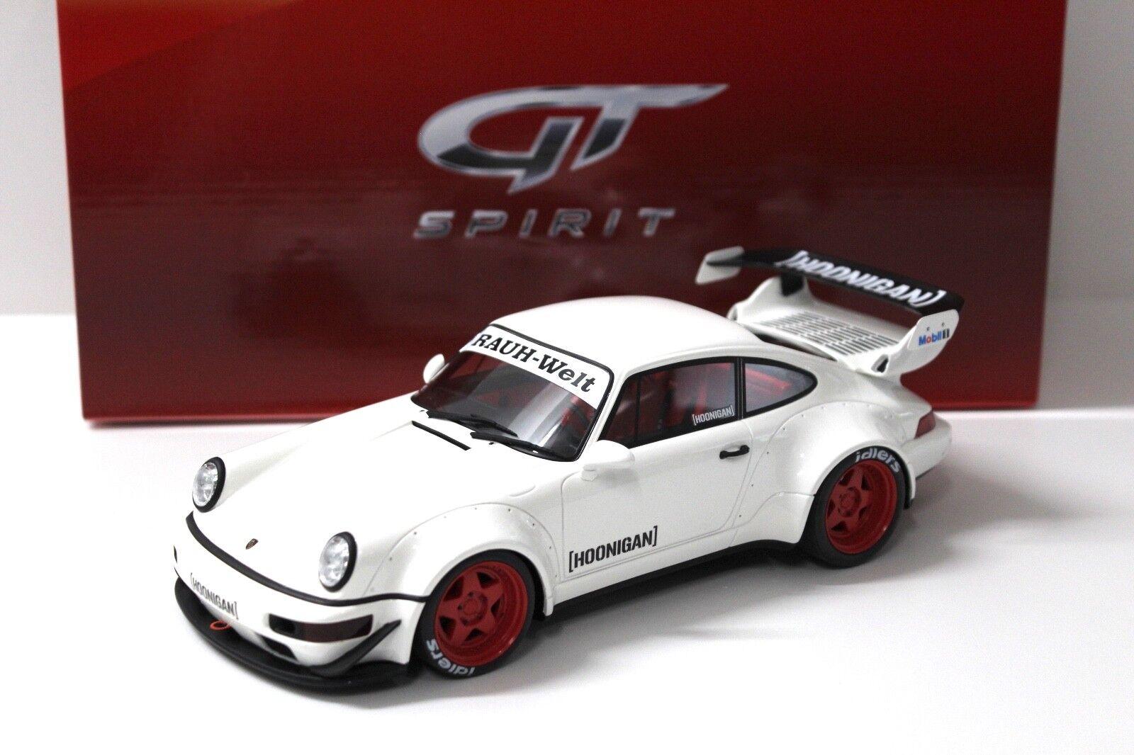 1 18 GT Spirit Porsche 964 RWB Hoonigan RAUH white NEW bei PREMIUM-MODELCARS