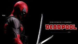 Action Movie Film  #21 DEADPOOL Movie A3//A4 size POSTER