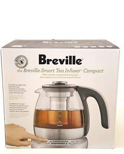 New Breville Btm500 Smart Tea Infuser Compact Brushed