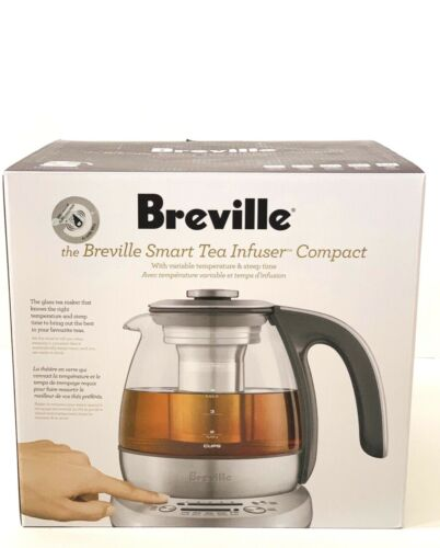 NEW Breville BTM500 Smart Tea Infuser Compact, Brushed Stainless Steel