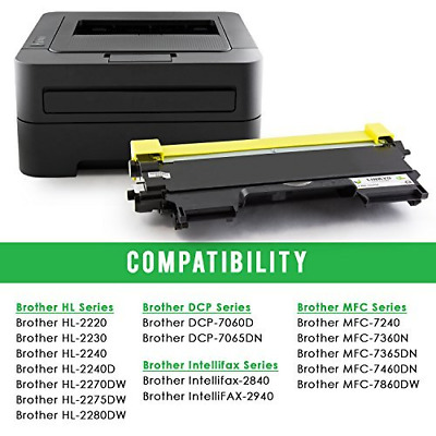 Black,1 Pack TN-420 USA Advantage Compatible Toner Cartridge Replacement for Brother TN420 TN450 TN-450 for Use with MFC-7240