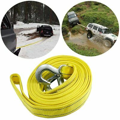Heavy Duty Towing Rope with Alloy Steel Hooks for Pulling Cars Car Accessories U