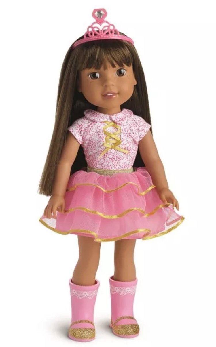 Nuevo-Muñeca American Girl Wellie wishers Ashlyn-Nuevo En Caja Usado en excelente condición 100% Auténtico