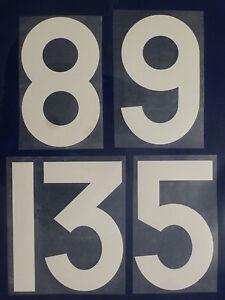 Flock-Nummer-number-numero-home-Trikot-jersey-shirt-Frankreich-France-1966