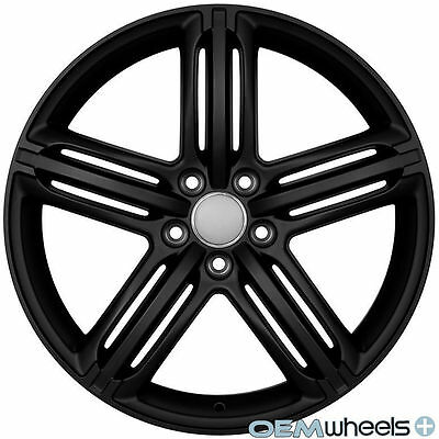19x8 5 et35 265 35 19 to aggressive 2017 Audi S5 Black peeler style replica wheels which are only available in 19x8 5 et35 in satin black i ve purchased from this selling in the past with great success