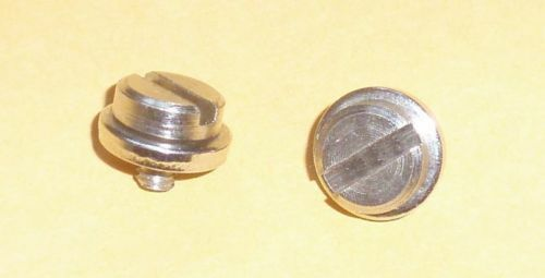 Two Screws for Setting Plates Brother knitting machine Ribber KR230//260//850