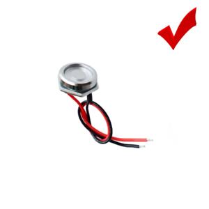 Chromium PlatedTM probe DS9092 Zinc Alloy iButton reader w LED Indicator