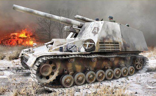 Dragon Models 1 35 WWII SdKfz.165 Hummel Initial Production w Winterketten