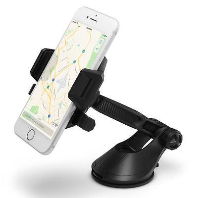 Spigen® [Kuel® TS36] Universal Cell Phone Dashboard Windshield Car Mount Holder