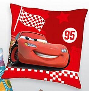 Herding-Kissen-Kinderkissen-Dekokissen-Cars-rot-40x40cm