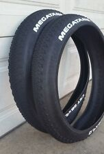 26x4.0 CST Megatane Fat Tires  for hard pack trails Beach Cruiser Bike