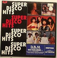 SUPER DISCO HITS / GILLA, BONY M, ERUPTION, SANTA ESMERALDA, SUGAR & CANDY......