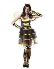 Adult Sexy BumbleBee Costume Fairy Alice In Wonderland Fancy Dress Party
