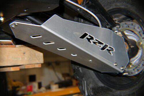"""POLARIS RZR 800 MADE USA 900 2008-2014 FRONT A-ARM GUARDS 1//8/"""" ALUMINUM"""