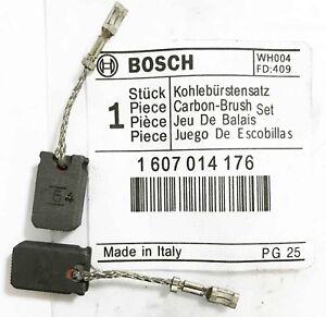 2 Motorkohlen Kohlebürsten für Bosch GWS 8-125 C