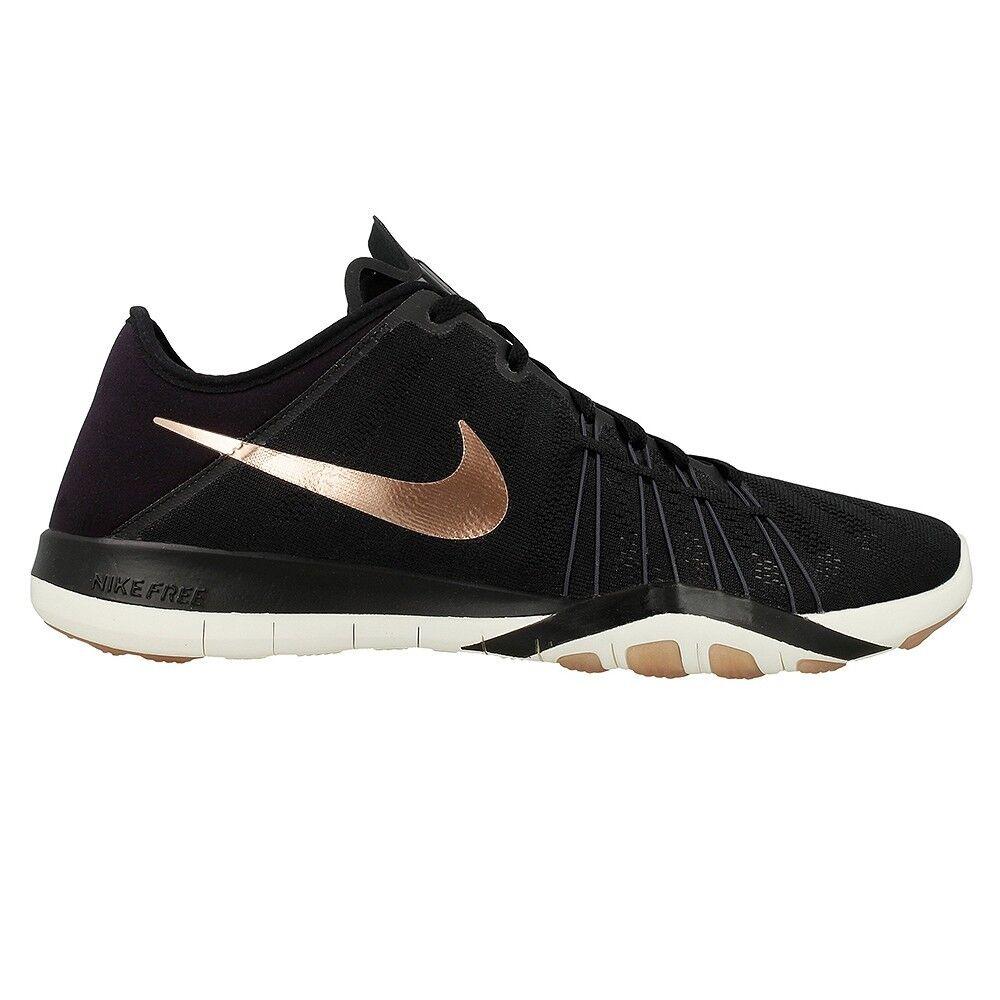 Nike Free TR 6  Black Metallic Red Bronze 833413-005 Wmn Sz 9.5