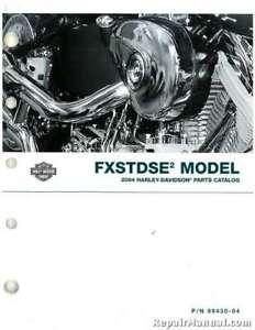 2004 Harley Davidson Fxstdse2 Motorcycle Parts Manual 99430 04a Ebay