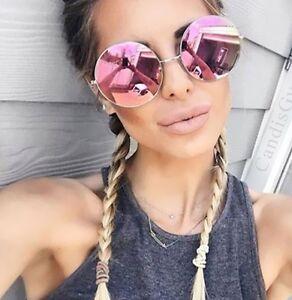 Oversized-Round-Circle-Frame-Mirror-Sunglasses-Purple-Super-Women-Cheap-Beach