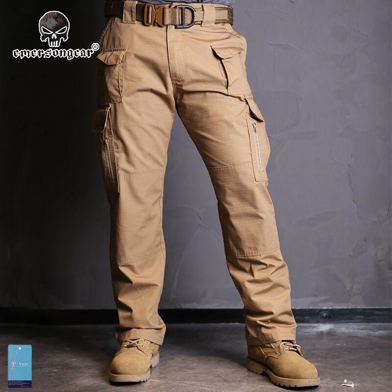 EMERSON tutte le condizioni atmosferiche Tactical Pantaloni Pantaloni Militari Caccia Duty Sports Gear