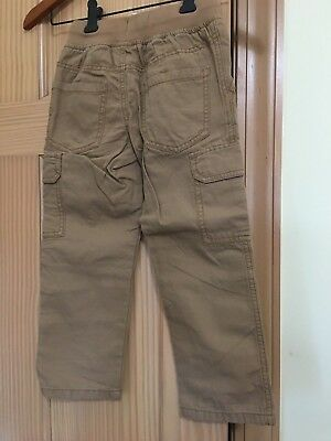 NWT Gymboree boys Pull on Cargo Pants 4 5 6 7 8 Khaki Rescue Squad