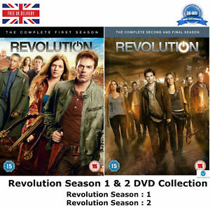 Revolution-Season-1-2-Complete-1-amp-2-Collection-with-all-42-Episodes-UK-R2-DVD