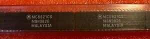 5Pcs-x-MC6821CS-MOTOROLA-CERAMIC-DIP-IC