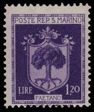 SAN MARINO 248 (Mi324) - Faetano Coat of Arms (pa29847)