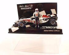 Minichamps F1 Honda Racing RA106 #12 Button Hungary winner 2006 1/43 neuf MIB