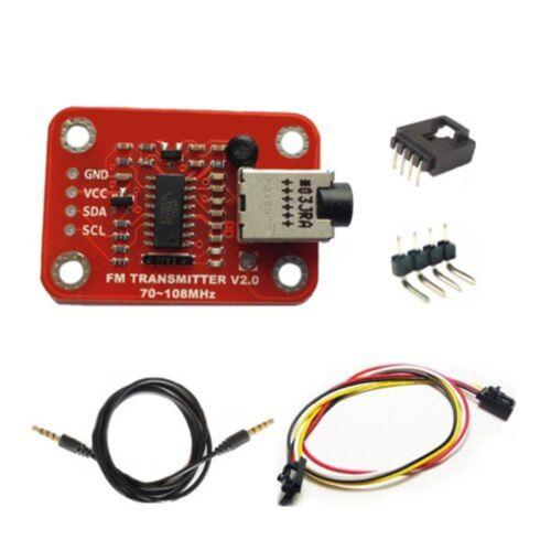 FM Radio Transmitter Module V2.0 Arduino Compatible