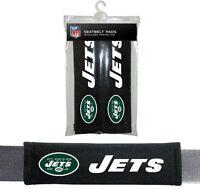 York Jets 2 Velour Seat Belt Laptop Bag Shoulder Pads Nfl Football