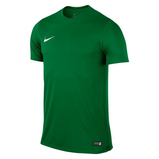 a90afd405 Mens Kids Nike Football Rugby Sports Match Training T Shirt Top Jersey Park  VI XL 44 46 Dark Green for sale online