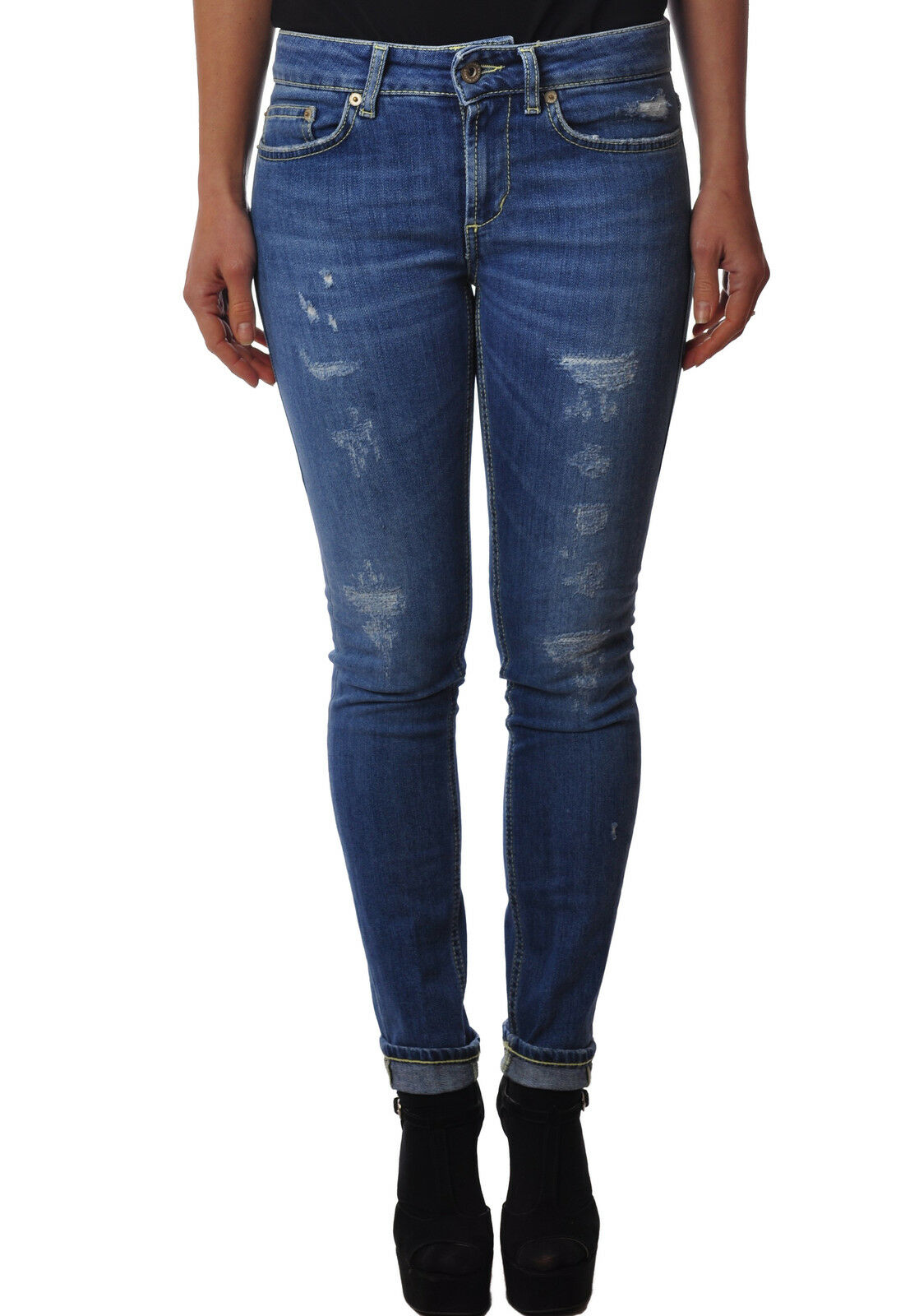 Dondup - Jeans-Pants-slim fit - Woman - Denim - 3332630L183854