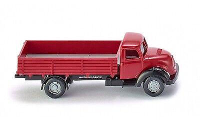 #042601 - Wiking Branda-camion (magirus Sirius) - Rosso - 1:87-mostra Il Titolo Originale In Corto Rifornimento