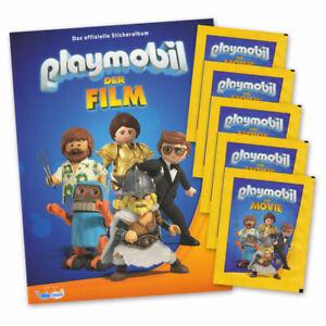 playmobil - der film edition 2019 - sammelalbum und 5
