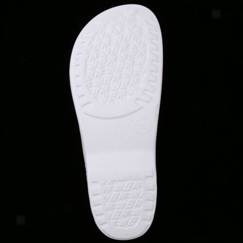 Women Mens Chef Kitchen Shoes Non-Slip Flexible Safety Work Slippers Clogs