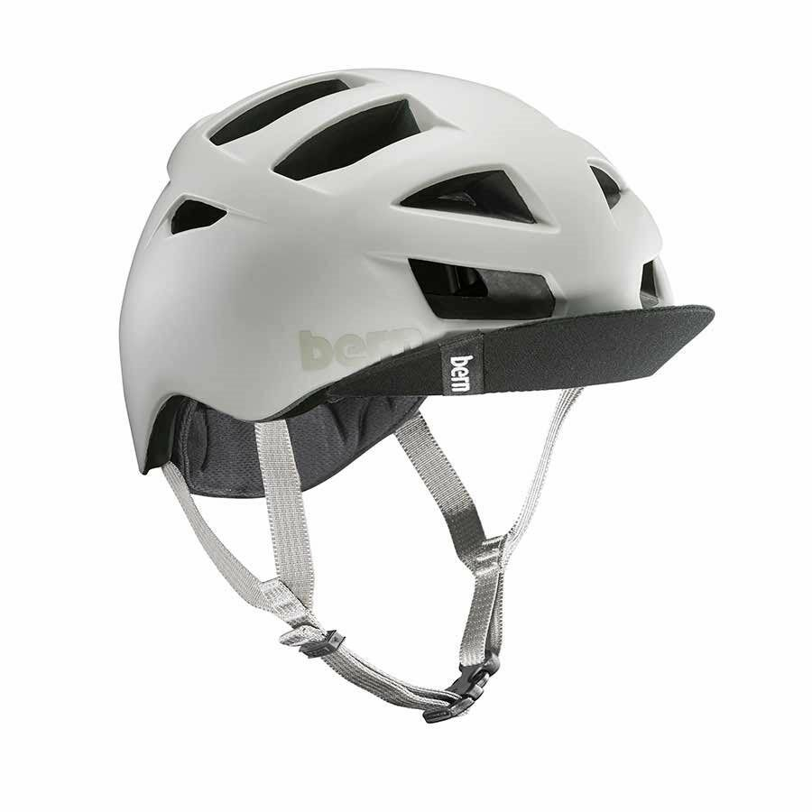 New Bern Allston Men Adult  Bicycle Helmet w  Visor MATTE SAND L XL  57-60.5cm  free and fast delivery available