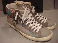 D.a.t.e. Hill High Military Aztec Gray Mens Size 11 Shoes Ankle High Sneakers