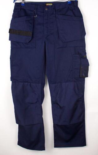 BLAKLADER Men Workwear Cargo Trousers Size 100 (W3