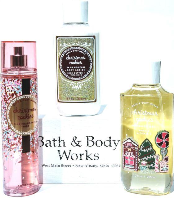 Bath and Body Works Christmas Cookie Body Lotion, Bath Gel, Body Mist   eBay
