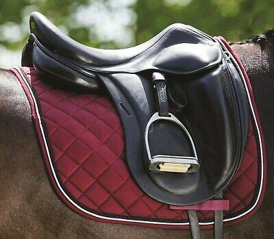 Nvy//Beige// Horseware Ireland Rambo GP SJ Saddle Pad Cob//Hor