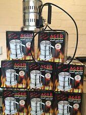Coal burner heats upto 8 large coconut coals in 2 mins very fast quality burner