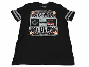 Nintendo-Classically-Trained-NES-Controller-Vintage-Video-Game-Men-039-s-T-Shirt
