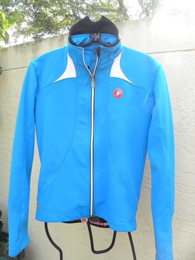 Castelli Ciclismo chaqueta auténtico Wind Stopper Gore Talla M
