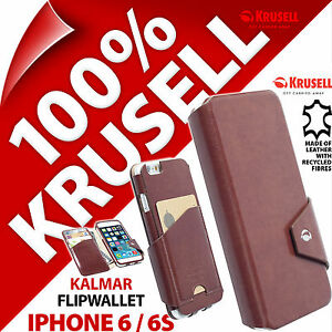 Krusell-Kalmar-Flipwallet-COQUE-pour-Apple-Iphone-6-6S-Porte-Cartes-Note-Poche