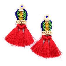 Splendido Anthropologie Rosso nappe Goccia Dangle Earrings-NUOVO