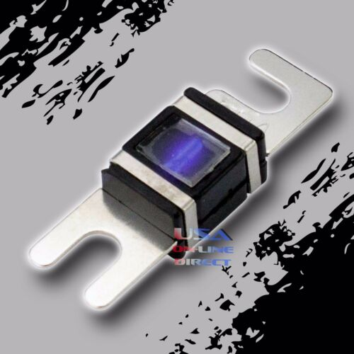 WAFER FUSES WITH LED LIGHT Car Marine AFS//MIDI 250 AMP 6 pcs PLATINUM MINI ANL