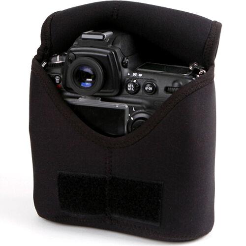Para Canon EOS 1Dx Mark II Mk 2 Xl Cámara SLR D-Cuerpo Neopreno Estuche Petaca Bolso
