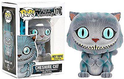 2010 - Cheshire Cat Flocked Pop Vinyl #178 Alice in Wonderland PROTECTOR