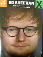 ED SHEERAN + & X Double Album piano vocal guitar