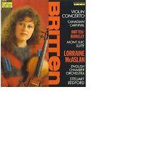 BRITTEN Violin Concerto BERKELEY Mont Juic Suit LORRAINE MCASLAN STEUART BEDFORD